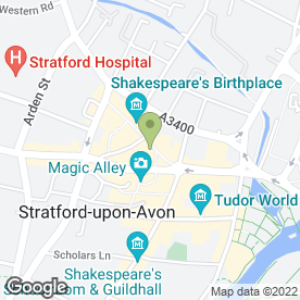 Map of Presto Retail Ltd in Stratford-Upon-Avon, warwickshire