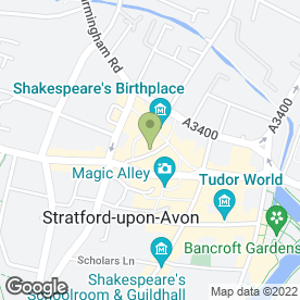 Map of Munchies for Lunches in Stratford-Upon-Avon, warwickshire
