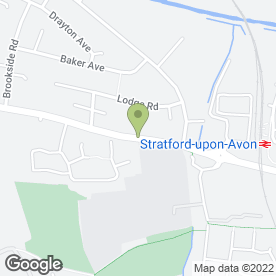 Map of Ideal Gardening in Stratford-Upon-Avon, warwickshire