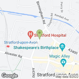 Map of Arden Park Guest House in Stratford-Upon-Avon, warwickshire