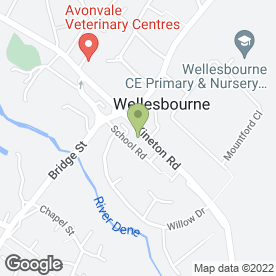 Map of PENMANS SOLICITORS LLP in Wellesbourne, Warwick, warwickshire