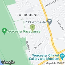 Map of Paramount Removals in Worcester, worcestershire