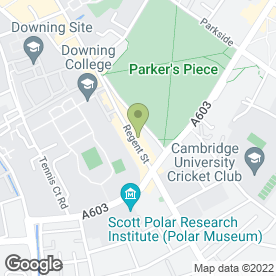 Map of The Regent News & Snacks in Cambridge, cambridgeshire