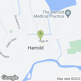 Map of The Retreat Ltd in Harrold, Bedford, bedfordshire