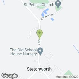 Map of J & D Taylor in Stetchworth, Newmarket, suffolk