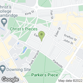 Map of Clarendon Street Veterinary Surgery in Cambridge, cambridgeshire