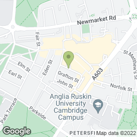 Map of A1 Electrical & Gas Maintenance Services in Cambridge, cambridgeshire