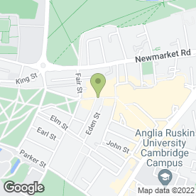 Map of Greggs in Cambridge, cambridgeshire