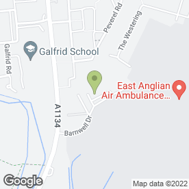 Map of Apollo Damp & Timber Decay Specialists Ltd in Cambridge, cambridgeshire