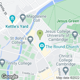 Map of The Maypole in Cambridge, cambridgeshire