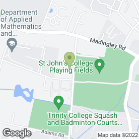 Map of St. John's College School (Pre-Prep Dept) in Cambridge, cambridgeshire