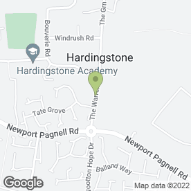 Map of JasonPoS Point of Sale in Hardingstone, Northampton, northamptonshire