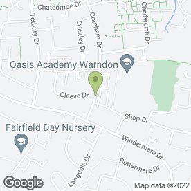 Map of TJ's Hair & Beauty in Worcester, worcestershire