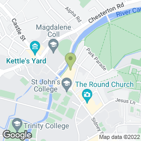 Map of Creme Du Cafe Ltd in Cambridge, cambridgeshire