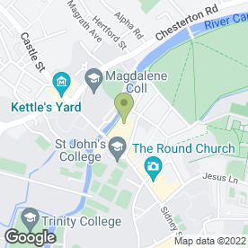 Map of Las Iguanas in Cambridge, cambridgeshire