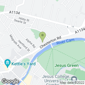 Map of ARUNDEL HOUSE HOTEL in Cambridge, cambridgeshire