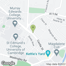 Map of Abbey Security Services Ltd in Cambridge, cambridgeshire