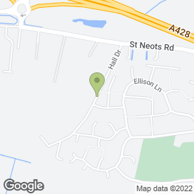 Map of Dick Searle in Hardwick, Cambridge, cambridgeshire