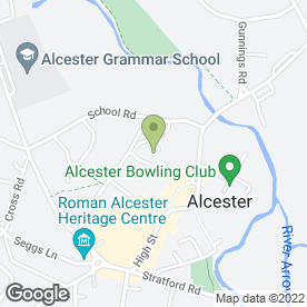 Map of Waitrose Ltd in Alcester, warwickshire