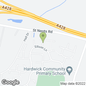 Map of Hardwick Taxi Service in Hardwick, Cambridge, cambridgeshire