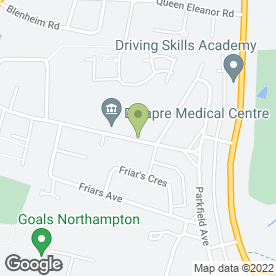 Map of MAS Audio in Northampton, northamptonshire