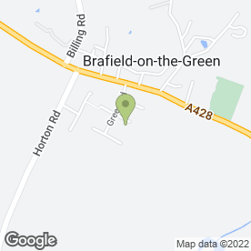 Map of T J Barden Roofing Services in Brafield On The Green, Northampton, northamptonshire