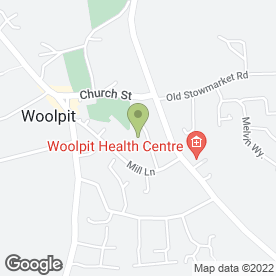 Map of Beauty & Sugaring by Jill Hamel in Woolpit, Bury St. Edmunds, suffolk