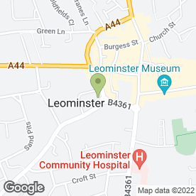 Map of Leominster Building Supplies in Leominster, herefordshire