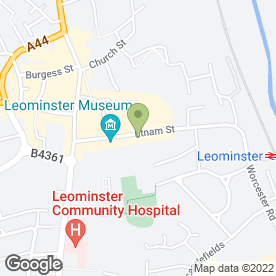 Map of Abracadabra Services in Leominster, herefordshire