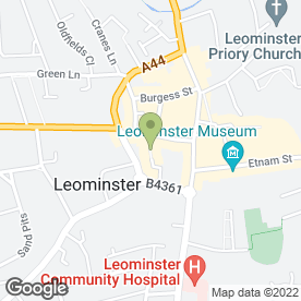 Map of Anchor Windows in Leominster, herefordshire