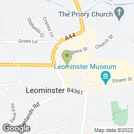 Map of Echo in Leominster, herefordshire