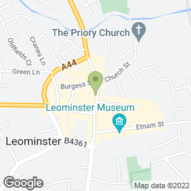 Map of Global Phones Ltd in Leominster, herefordshire
