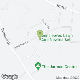 Map of Fussey's Removals in Newmarket, suffolk