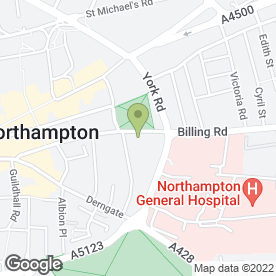 Map of Debbie Smith in Northampton, northamptonshire