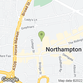 Map of Lloyds TSB Bank plc in Northampton, northamptonshire