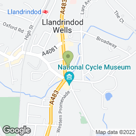 Map of Masco Tool Hire in Llandrindod Wells, powys