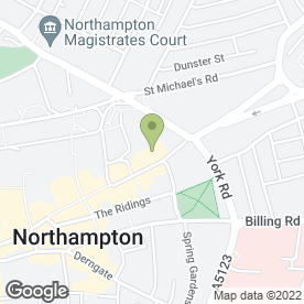 Map of Professional Elegance Beauty in Northampton, northamptonshire
