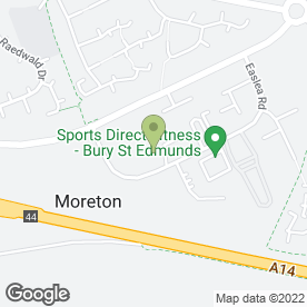 Map of Howdens Joinery Ltd in Bury St. Edmunds, suffolk