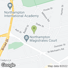 Map of Zedi Signs Ltd in Northampton, northamptonshire