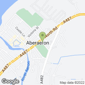 Map of John Francis Property Services in Aberaeron, dyfed