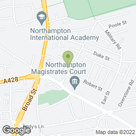 Map of Glass Northampton Ltd in Northampton, northamptonshire