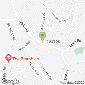 Map of Ice Dental Spa in Duston, Northampton, northamptonshire