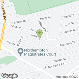 Map of Volvina Ltd in Northampton, northamptonshire