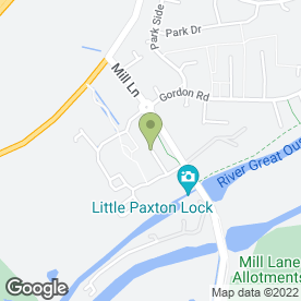 Map of ST Carpentry & Maintenance in Little Paxton, St. Neots, cambridgeshire