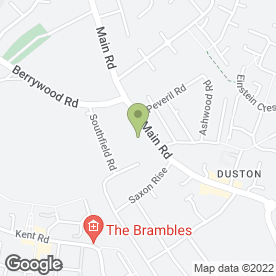 Map of Studio 53 in Duston, Northampton, northamptonshire