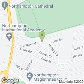 Map of ROBINSONS BLINDS & SHUTTERS in Northampton, northamptonshire