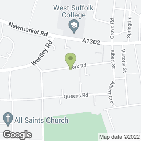 Map of MIKE L PIPE in Bury St. Edmunds, suffolk