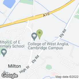 Map of K9 Grooming in Cambridge, cambridgeshire