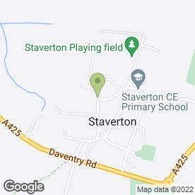 Map of ASTONS SOLICITORS in Staverton, Daventry, northamptonshire