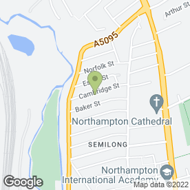 Map of Poynters Coaches in Northampton, northamptonshire